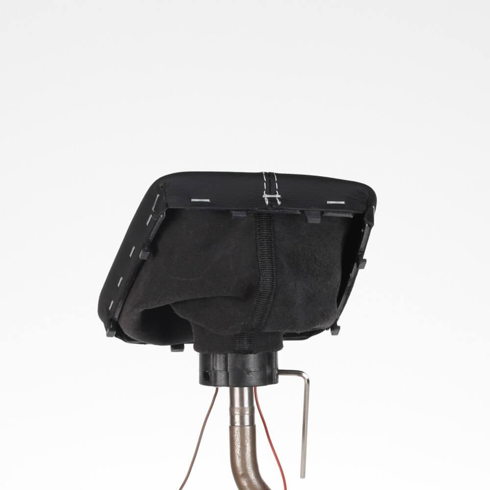 pommeau levier vitesse mercedes w203 facelift s203 cl203 led couture argent b41 ebay. Black Bedroom Furniture Sets. Home Design Ideas