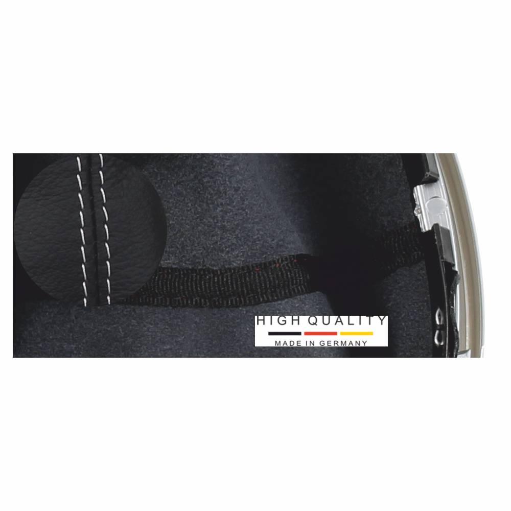 neu ict schaltknauf schaltsack leder dacia renault duster. Black Bedroom Furniture Sets. Home Design Ideas
